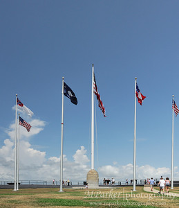 Flags at Fort Sumter