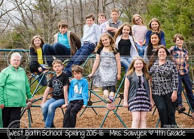 Sawyer 5x7 class photo