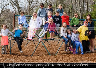 Beal 5x7 class photo SPRING