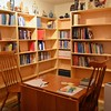 What was once a wine cellar is now a library. Frater Joseph Vu has been busy digitally cataloguing its contents.