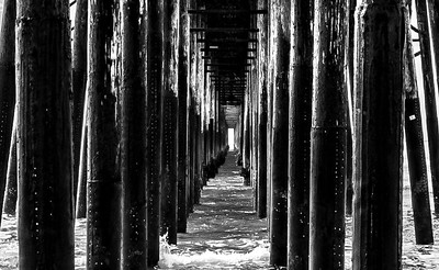 Oceanside Pier Underbelly