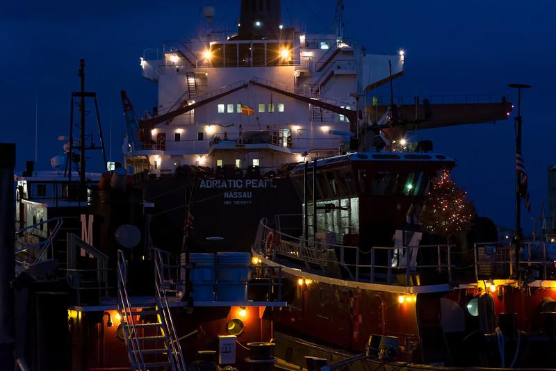 Ship and Tug