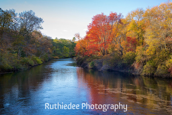 Looking Down the Taunton River~