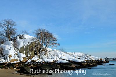 Winter by the sea...  Cape Ann