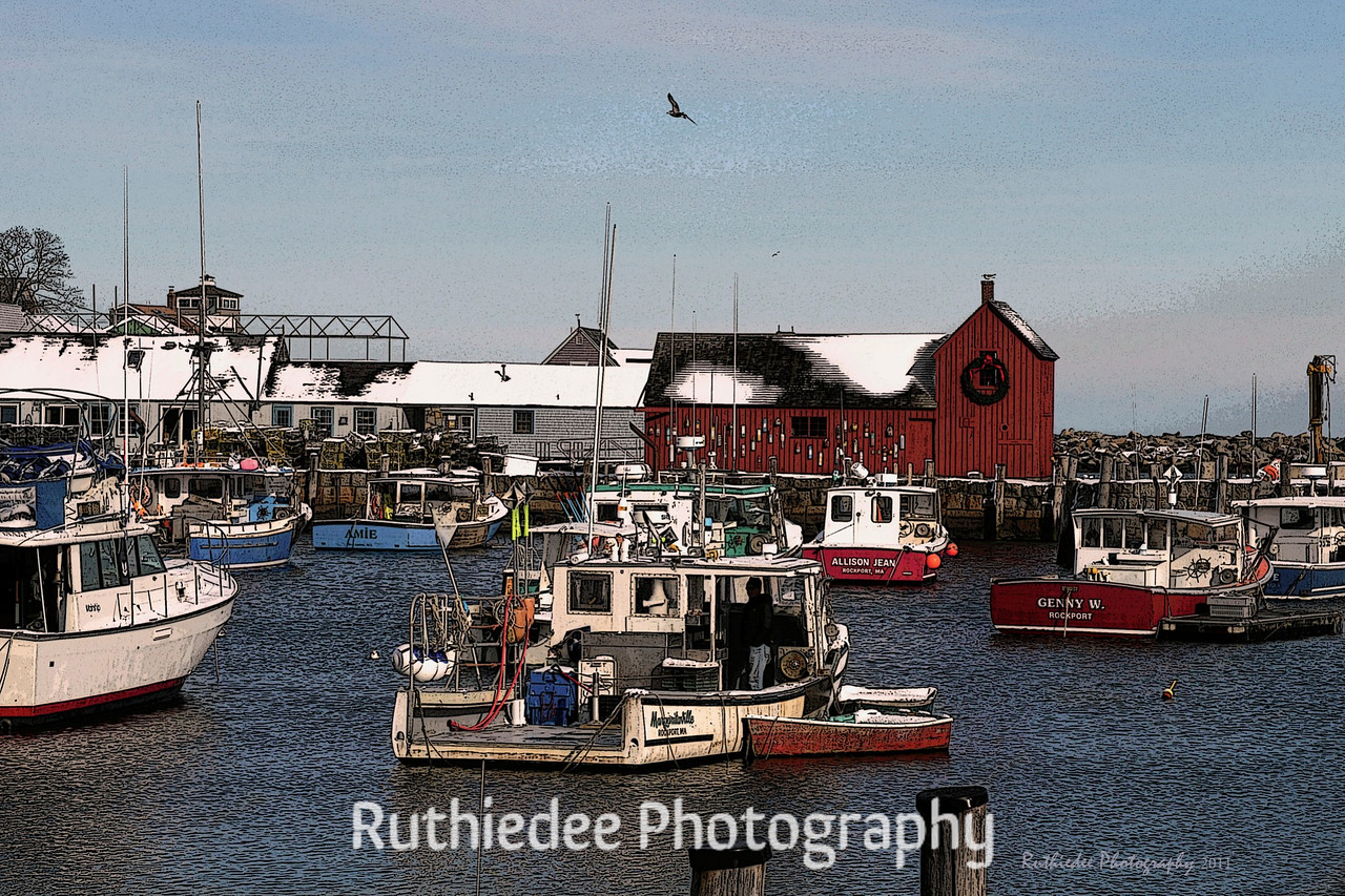 Winter in Rockport...