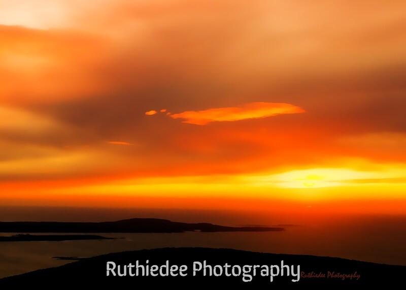 First sun on Cadilac Mountain...