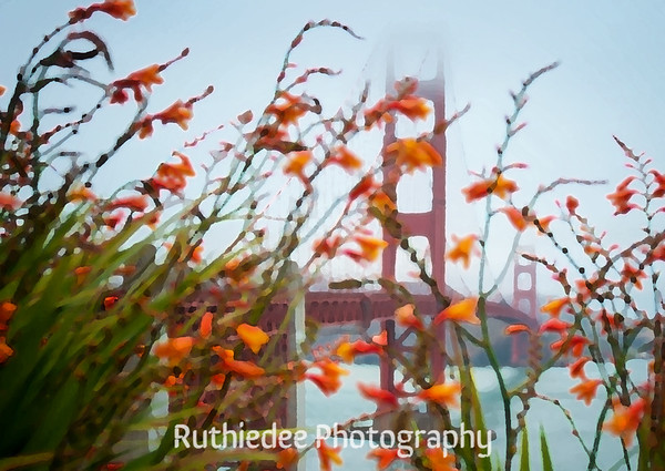Golden Gate Bridge... stylistic