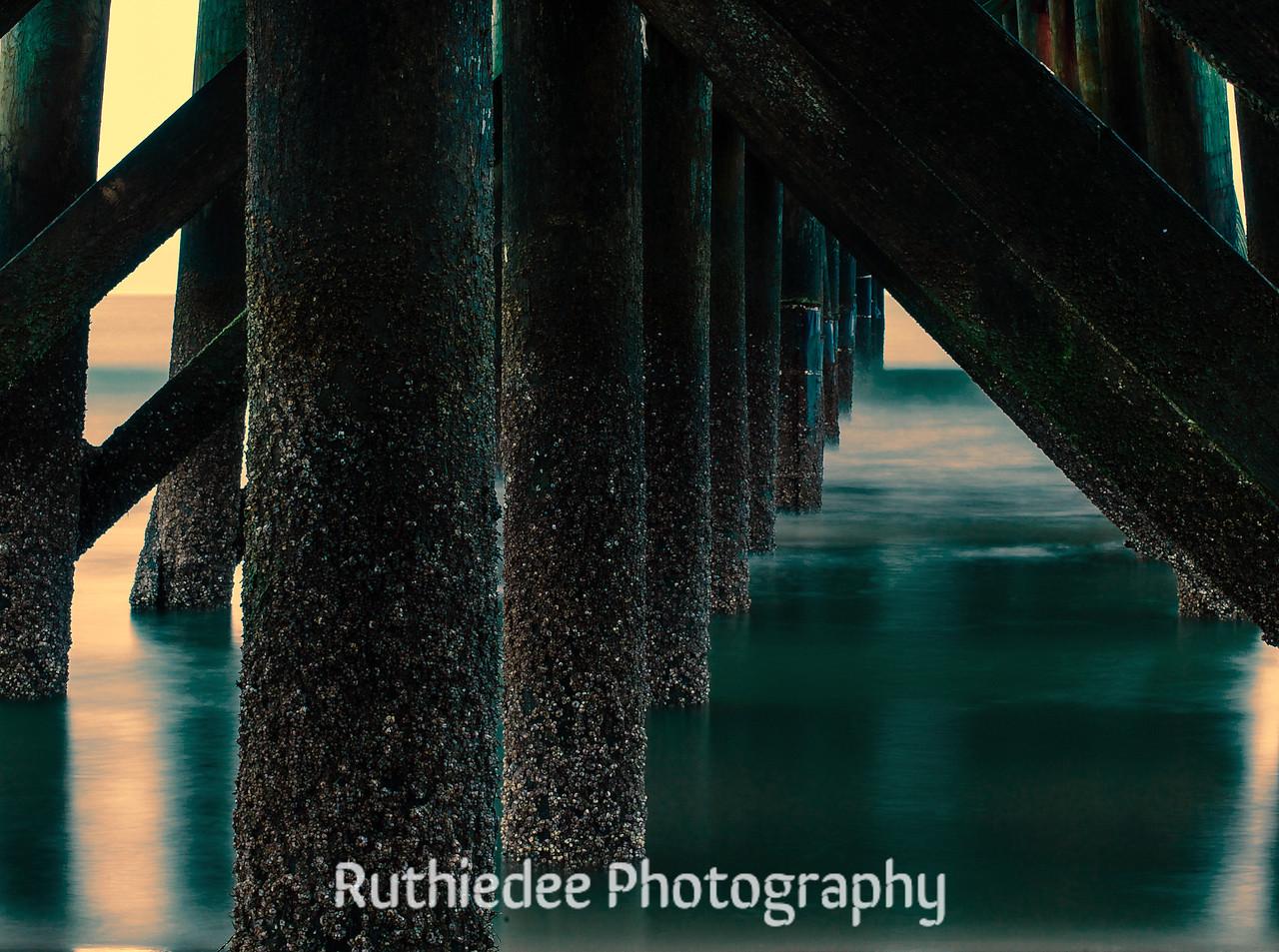Under the boardwalk...