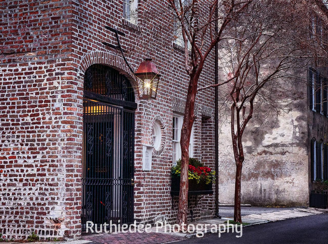 Brick home in Charleston...