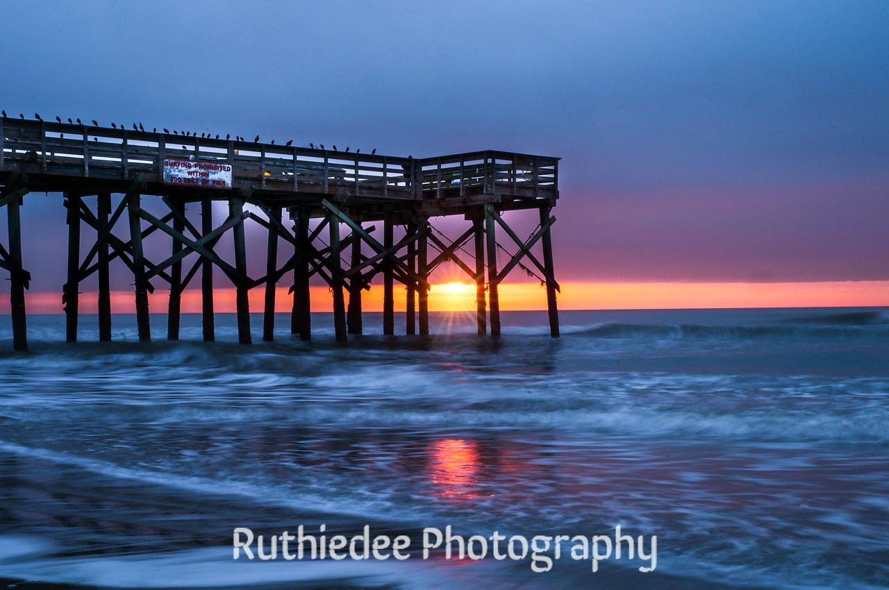 Sunrise at Isle of Palms...