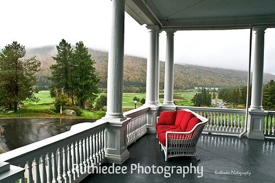 Waiting for the sun...  Mount Washington Hotel, New Hampshire