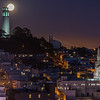 Moon Over Telegraph Hill