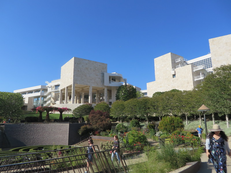 Getty Museum with Paul on 7/221/17
