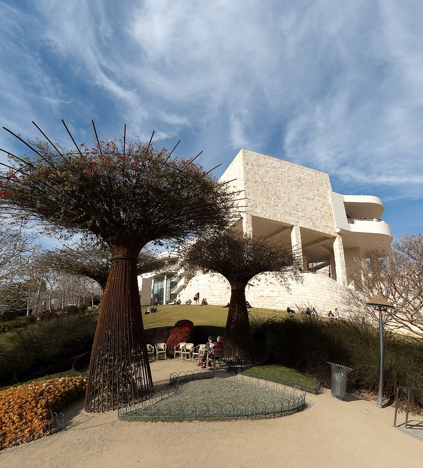 Tree at the Getty, defished<br /> © Harvey Cooper 2009