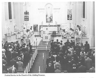 Eucharist Old Chapel Altar