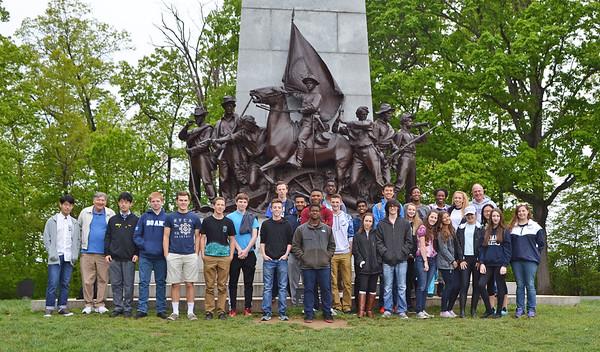 Gettysburg - Class of 2018 - May 18, 2016