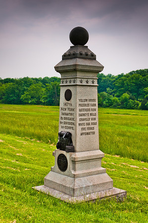 147th New York Monument, Gettysburg National Military Park, PA