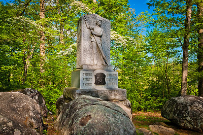 5th Michigan Infantry Monument, Gettysburg National Military Park, PA