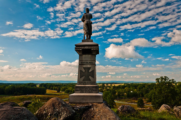 155th Pennsylvania Volunteers Monument, Gettysburg, Pennsylvania