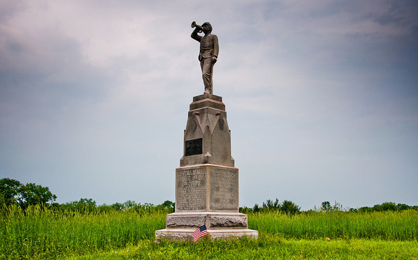 153rd Pennsylvania Infantry Monument, Gettysburg National Military Park, PA