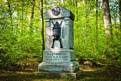 52nd New York Infantry Monument, Gettysburg National Military Park, PA