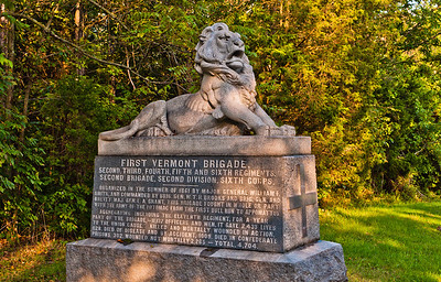 1st Vermont Brigade Monument, Gettysburg National Military Park, PA