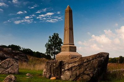 4th Maine Infantry Monument, Gettysburg, Pennsylvania
