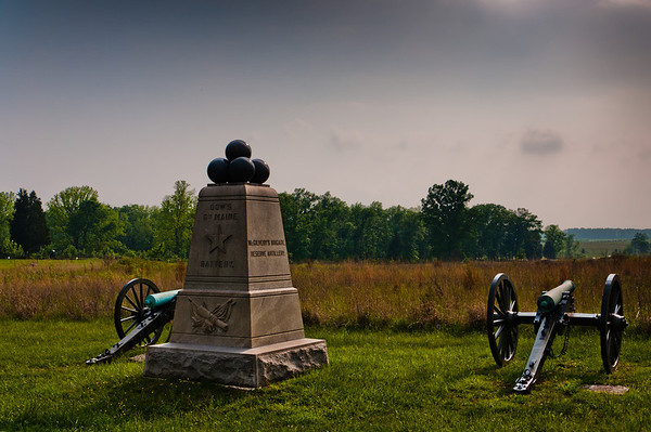 Dow's 6th Maine Battery Monument, Gettysburg, Pennsylvania