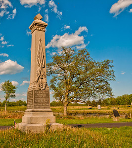 8th New Jersey Volunteers Monument, Gettysburg National Military Park, PA