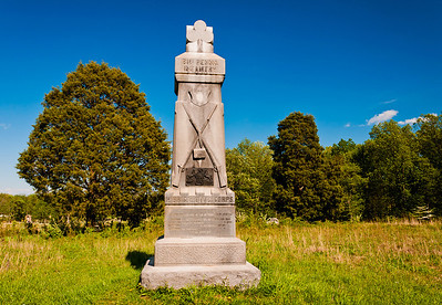 81st Pennsylvania Infantry Monument, Gettysburg National Military Park, PA
