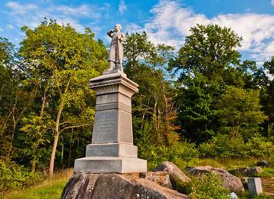 155th Pennsylvania Volunteers Monument, Gettysburg National Military Park, PA