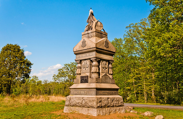 148th Pennsylvania Infantry Monument, Gettysburg National Military Park, PA