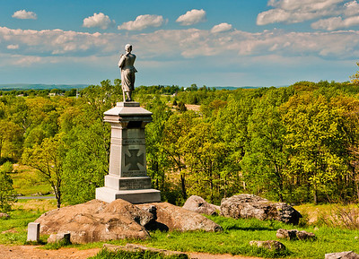 155th Pennsylvania Volunteers Monument ,Gettysburg National Military Park, PA