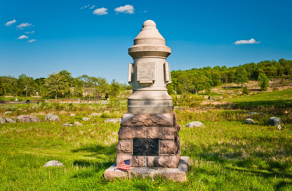 30th Pennsylvania Infantry Monument, Gettysburg National Military Park, PA