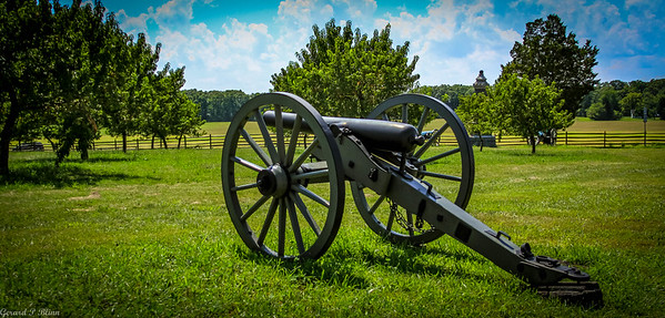 Cannon by the Peach Orchard