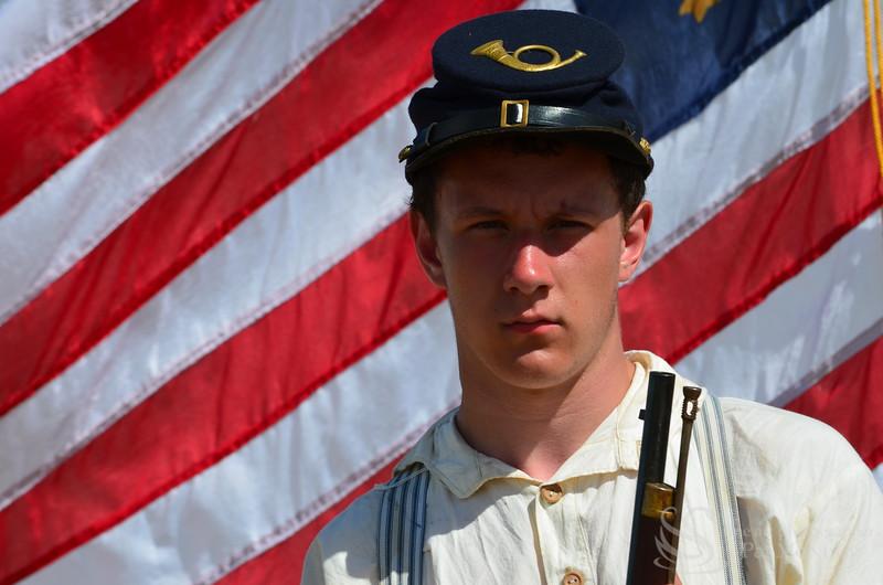 Confederate Soldier Photo