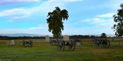 Pickets Charge site where General Armistead  was mortally wounded
