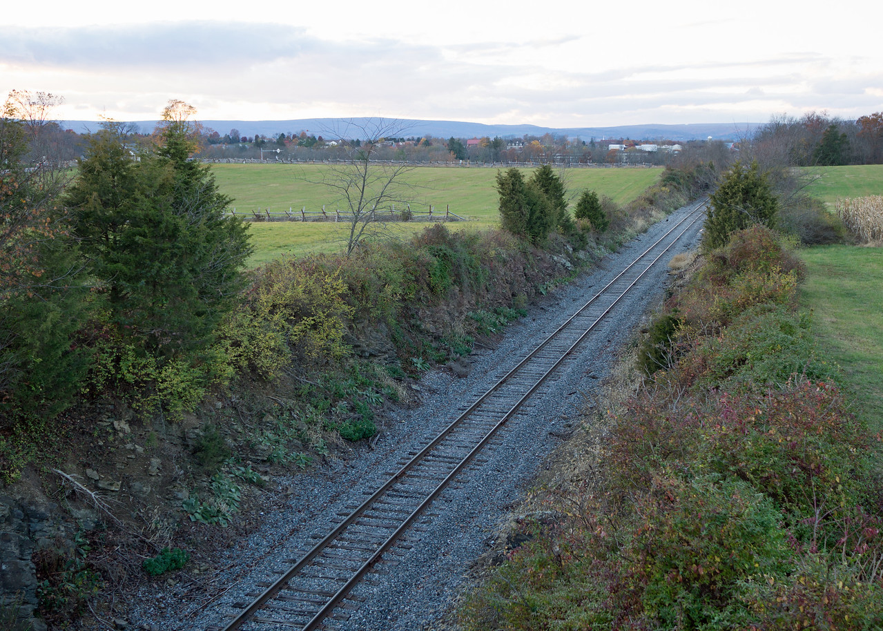 Railway Cut:  it was an unfinished project in July of 1863, when on day one of the Gettysburg battle Federal troops captured scores of Confederates caught at the bottom of the steep walls.