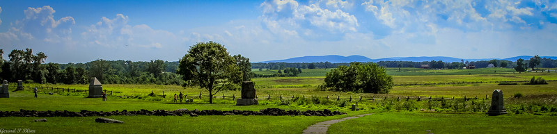 Picketts Charge field