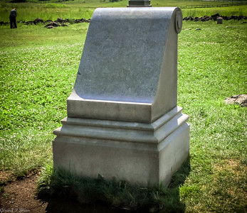 The spot where Gen Armistead was mortally wounded