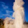 Grand Geyser at Sunset