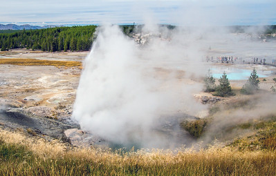 Ledge Geyser,  Sept. 6, 2015