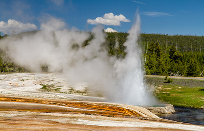 Cliff Geyser (Black Sand Basin)