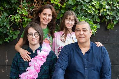 Portret gezin Racula Hilversum