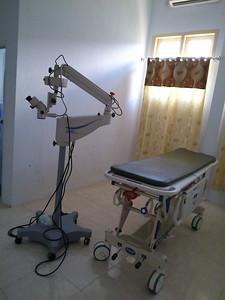 OK klaar voor inspectie microscopen door de oogartsen