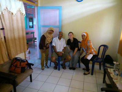 Screening in Wairoro,  Ben de Lima als tolk
