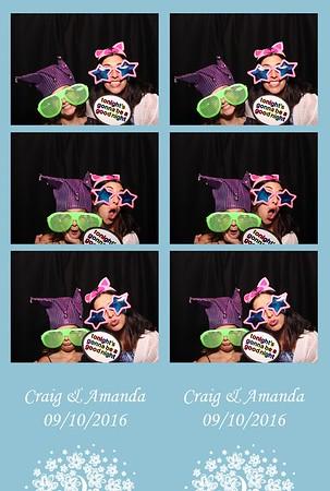 Craig & Amanda 9.10.2016
