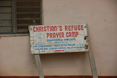 Christian's Refugee Prayer Camp is also the orphanage though titled, Christian Refugee Orphanage Center