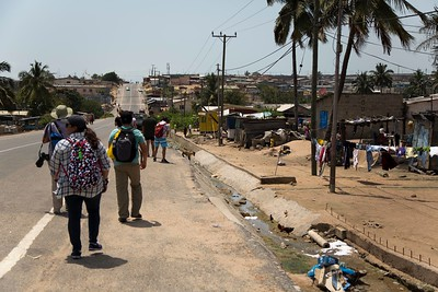 Walking tour of Winneba