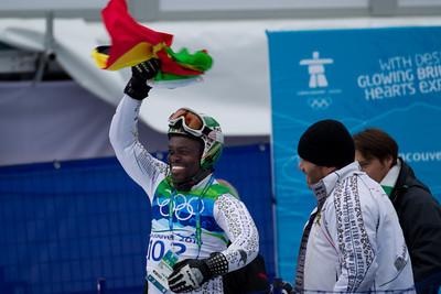 Ghana Ski Team Vancouver 2010